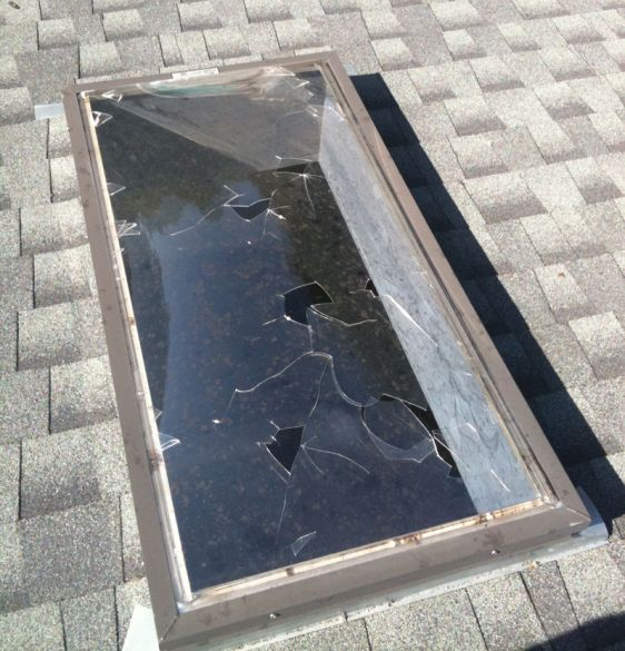 Skylight Crack Repair