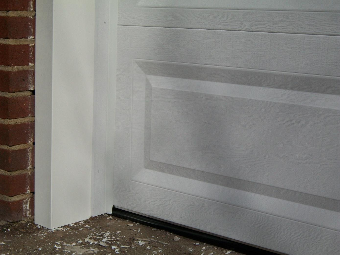 Garage door side seal strip - How To Seal Your Garage And Protect Your Home From Gases And Fumes